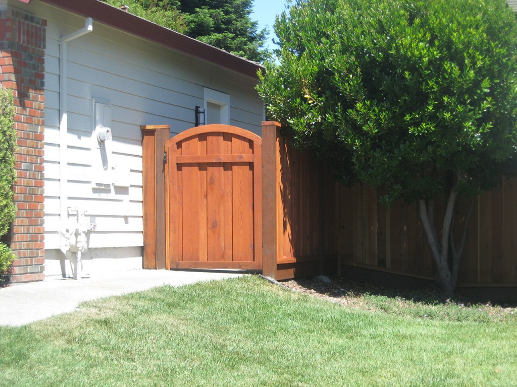 wood fence all american fence corporation