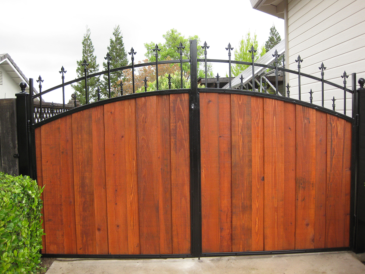 Wood Gate All American Fence Corpall American Fence Corp